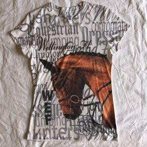 WEF Horse Show Wellington Florida Shirt Large New